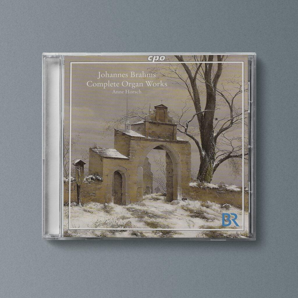 Anne Horsch, Organistin, CD Cover, Brahms, Complete Organ Works