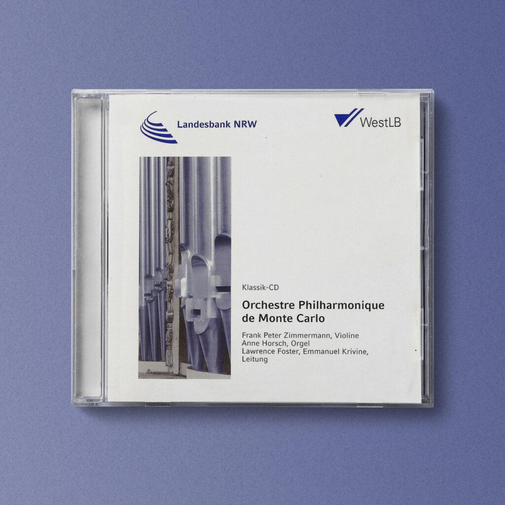 Anne Horsch, Organistin, CD Cover, Orchester Philharmonique de Monte Carlo